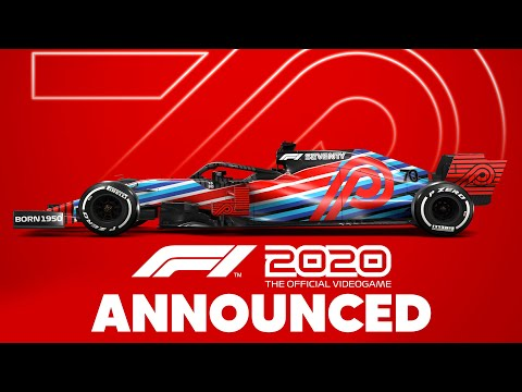 F1 2020 ANNOUNCED & CREATE YOUR OWN TEAM