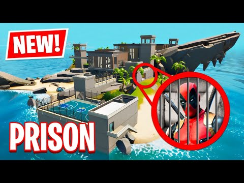 NEW UPDATE!! Prison Secret Map Changes! (Fortnite Battle Royale)
