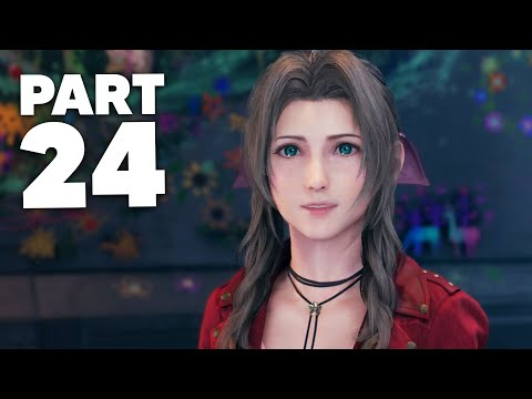 FINAL FANTASY 7 REMAKE PS4 Gameplay Walkthrough Part 24 - CHAPTER 17 (Full Game)