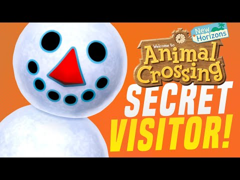 You NEED To SEE This SECRET VISITOR in Animal Crossing New Horizons! (Animal Crossing Tips)