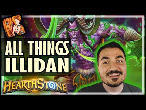 ALL THINGS ILLIDAN! - Ashes of Outland Hearthstone Battlegrounds
