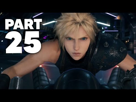 FINAL FANTASY 7 REMAKE PS4 Gameplay Walkthrough Part 25 - EPIC ESCAPE (Full Game)