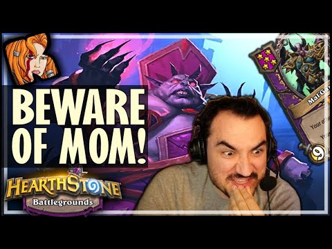 BIG IMP MAMA = UNSTOPPABLE! - Hearthstone Battlegrounds