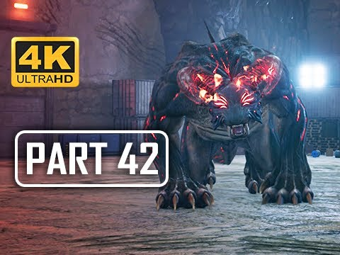 BOSS TYPE-0 BEHEMOTH - FINAL FANTASY 7 REMAKE Walkthrough Part 42  (4K PS4 Pro Gameplay)