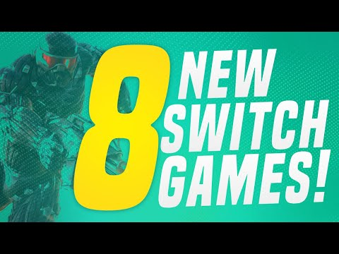 8 JUST ANNOUNCED New Switch Games coming to Nintendo eShop!