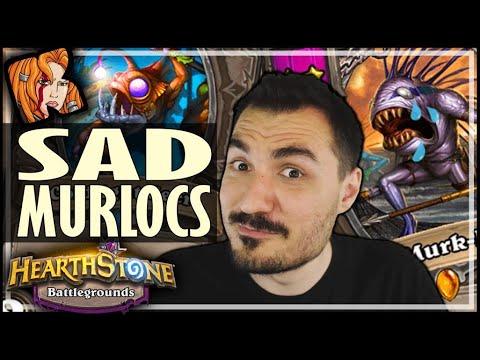 SHORT GAMES = SAD MURLOCS - Hearthstone Battlegrounds