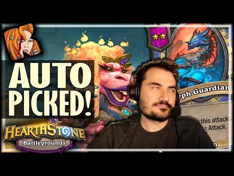 I AUTO-PICKED QUEEN WAGTOGGLE - Hearthstone Battlegrounds