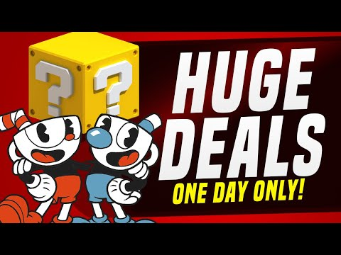 Huge ONE DAY ONLY Switch Sales and Nintendo Deals! (Physical & eShop)