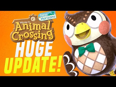 HUGE New Features + Shops Coming To Animal Crossing New Horizons?!  (Switch Datamine Update)