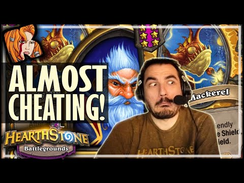 AS CLOSE AS IT GETS TO CHEATING! - Hearthstone Battlegrounds