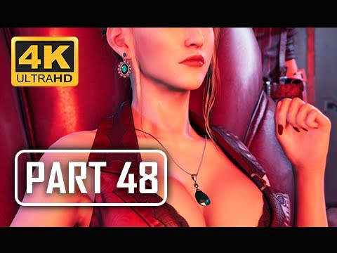 FINAL FANTASY 7 REMAKE Walkthrough Part 48 - Executives (4K PS4 Pro Gameplay)