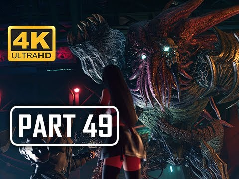 BOSS SPECIMEN H0512 - FINAL FANTASY 7 REMAKE Walkthrough Part 49 (4K PS4 Pro Gameplay)