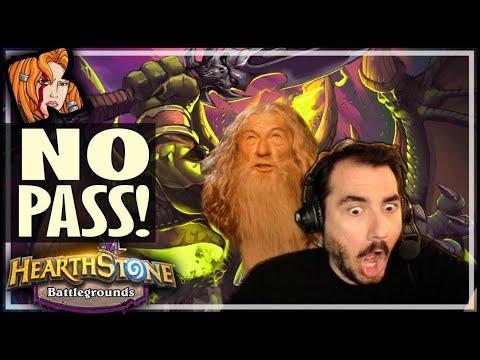 YOU SHALL NOT PASS! - Hearthstone Battlegrounds