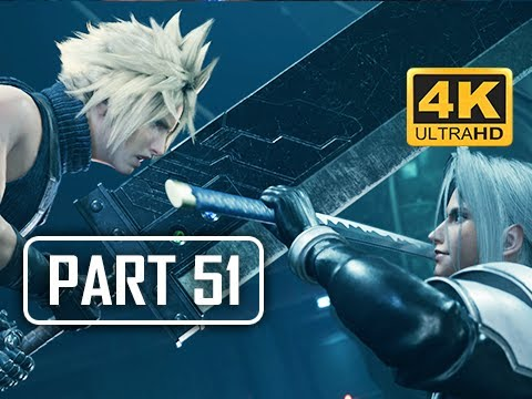 JENOVA - FINAL FANTASY 7 REMAKE Walkthrough Part 51 (4K PS4 Pro Gameplay)