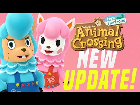 Redd & Leif Are Back! New Animal Crossing Update ft New Shops + Events! (New Horizons Switch Update)