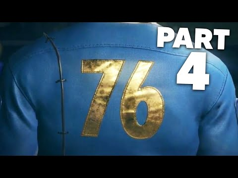 FALLOUT 76 WASTELANDERS Gameplay Walkthrough Part 4 - NOT STRONG ENOUGH