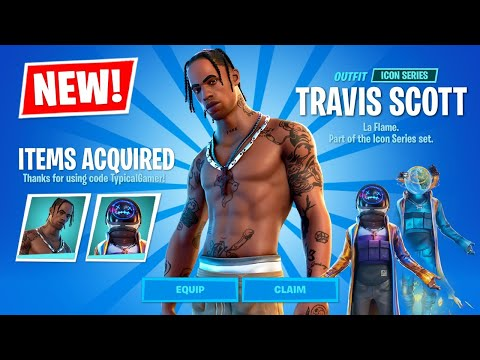 New TRAVIS SCOTT Skin EARLY and CHALLENGES! (Fortnite Battle Royale)