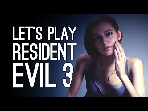Let's Play Resident Evil 3 Remake: JILL VALENTINE MEETS NEMESIS! Episode 1