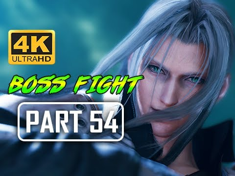 BOSS JENOVA DREAMWEAVER - FINAL FANTASY 7 REMAKE Walkthrough Part 54 (4K PS4 Pro Gameplay)