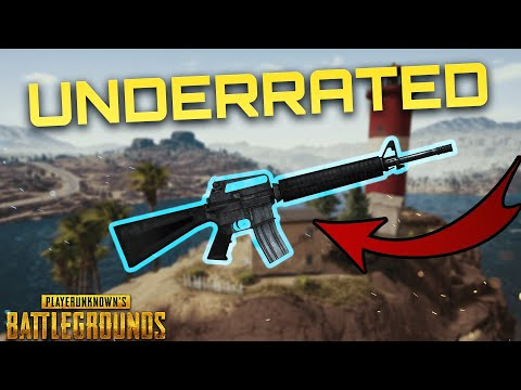 THIS GUN IS UNDERRATED | XBOX / PS4 PUBG GAMEPLAY