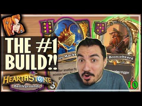 THE #1 BUILD IN BATTLEGROUNDS?! - Hearthstone Battlegrounds