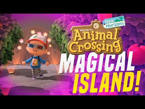 THIS 5 Star Island is MAGICAL! Animal Crossing New Horizons Island Tour
