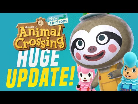 NEW SHOPS ARRIVE! New Animal Crossing Switch Update 1.2! (New Horizons Tips)