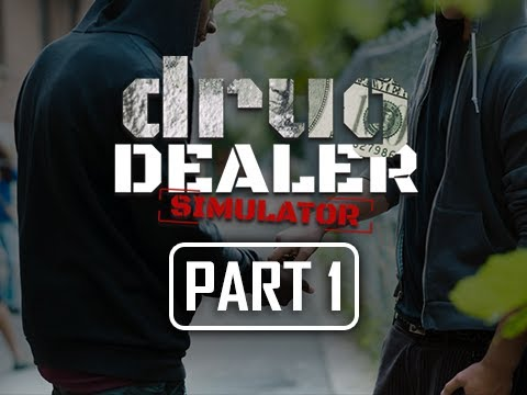 Drug Dealer Simulator Gameplay Walkthrough Part 1 - I'm a Criminal