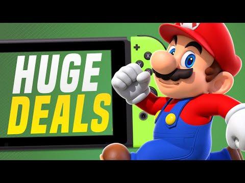 BIG Spring Nintendo Switch eShop Sale RIGHT NOW!