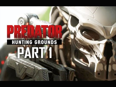 PREDATOR HUNTING GROUNDS Gameplay Walkthrough Part 1 - JUNGLE HUNTER