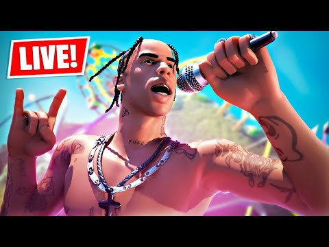 New TRAVIS SCOTT Concert LIVE EVENT in Fortnite!