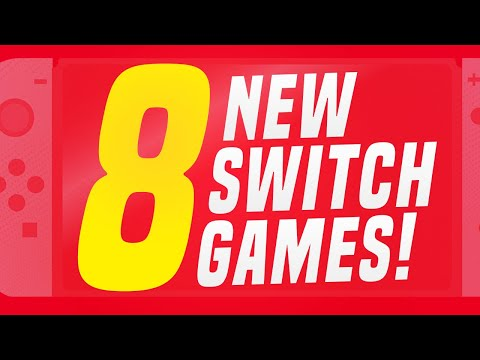 8 NEW Switch Games JUST ANNOUNCED for Nintendo eShop! (1 Switch Release Update)