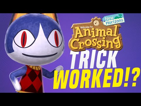 HOW To Get RARE Animal Crossing Villagers & Islands - AIRPORT TRICK WORKED!? (Animal Crossing Tips)