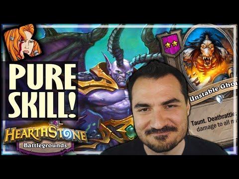PURE SKILL DEMON BUILD! - Hearthstone Battlegrounds