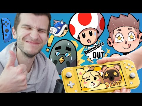 GABE RETURNS! SWITCH LITE GIVEAWAY... NEW Animal Crossing Switch Strong Update!