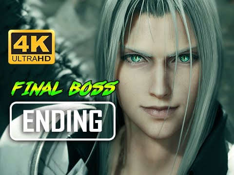 ENDING + FINAL BOSS - FINAL FANTASY 7 REMAKE Walkthrough Part 58 (4K PS4 Pro Gameplay)