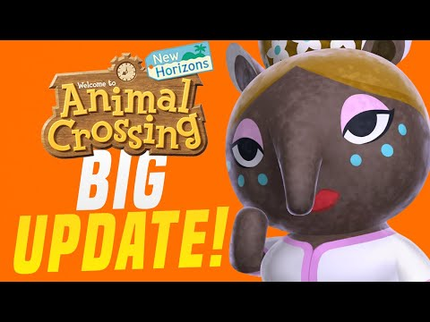 BIG New Features + Shops COMING To Animal Crossing New Horizons!? (Switch Rumor Datamine Update)