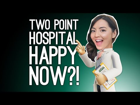 Two Point Hospital Gameplay: HAPPY HOSPITAL? (Two Point Hospital on Xbox One)