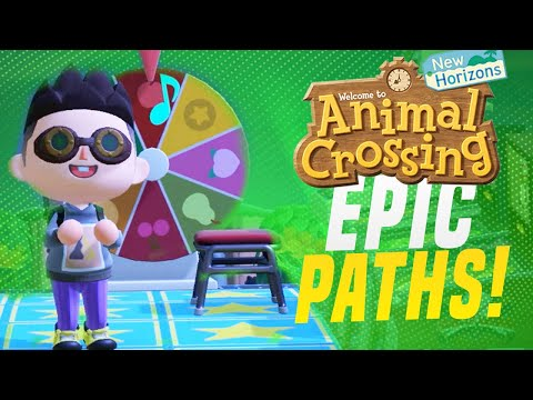 PERFECT Paths!  5 Star Island Tour in Animal Crossing New Horizons! (Animal Crossing Tips)