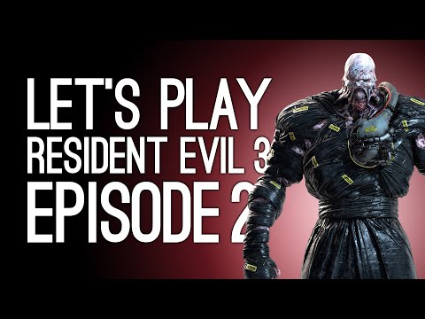 Let's Play Resident Evil 3 Remake: NEMESIS FIGHT! - Resident Evil 3 Playthrough Episode 2