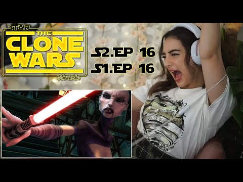 IT BEGINS! / Star Wars: The Clone Wars S2E16 & S1E16 Reaction