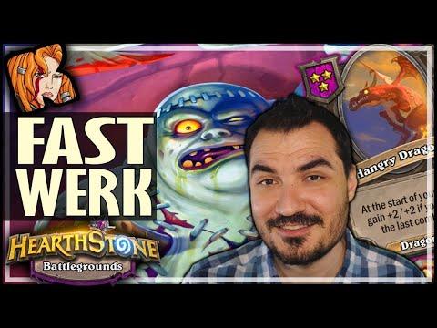 FASTER GAMES = PATCHWERK ROCKS! - Hearthstone Battlegrounds