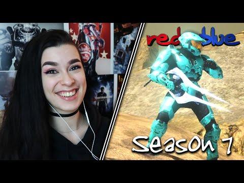 YES, HE'S BACK!!! | Red vs. Blue Reaction | Season 7 | EP 7-12