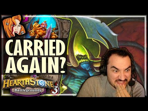 THE CARRY HAS ARRIVED! - Hearthstone Battlegrounds