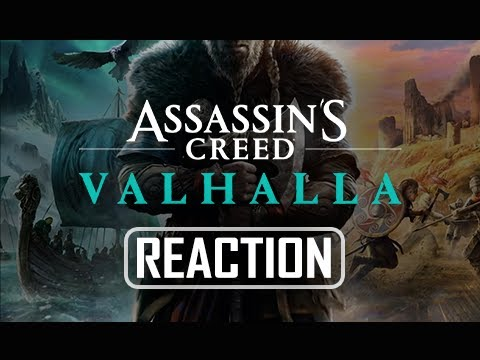 VIKINGS!!! - Assassin's Creed Valhalla Reveal Trailer Reactions