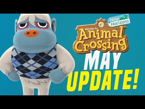 Animal Crossing May Update - ALL New Features, Bugs/Fish, Events, Villagers! (New Horizons Tips)