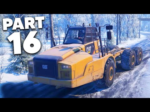 SNOWRUNNER Gameplay Walkthrough Part 16 - I'M NOT ANGRY I'M DISAPPOINTED