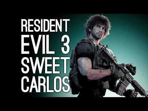 Let's Play Resident Evil 3 Remake: SWEET CARLOS DON'T DIE (Resident Evil 3 Playthrough Episode 3)