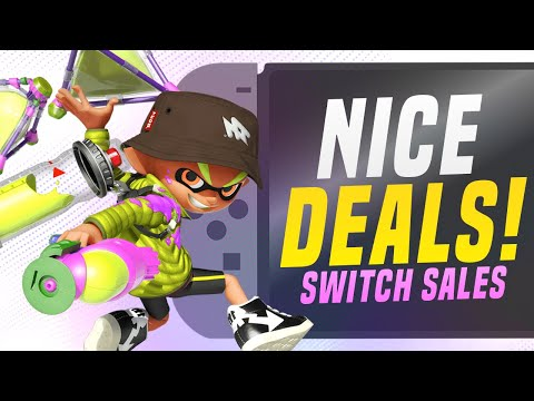 NICE Nintendo Switch eShop Sale for MAY RIGHT NOW!