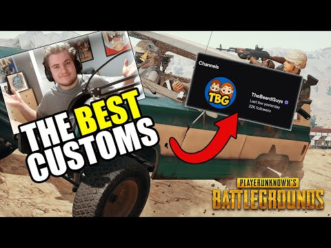 THE BEST CUSTOMS ON TWITCH | PUBG XBOX ONE / PS4
